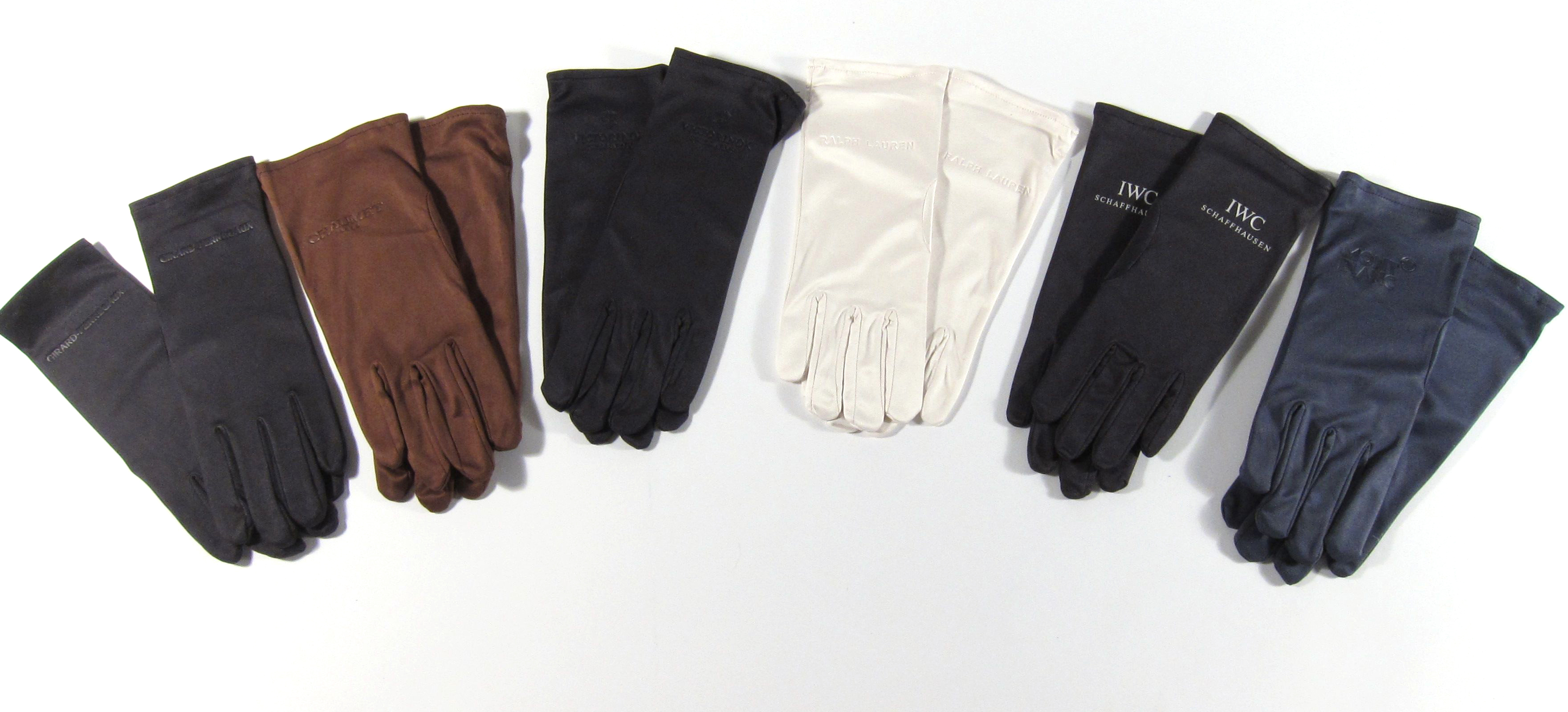 Black microfiber jewelry gloves - Jewelersgloves